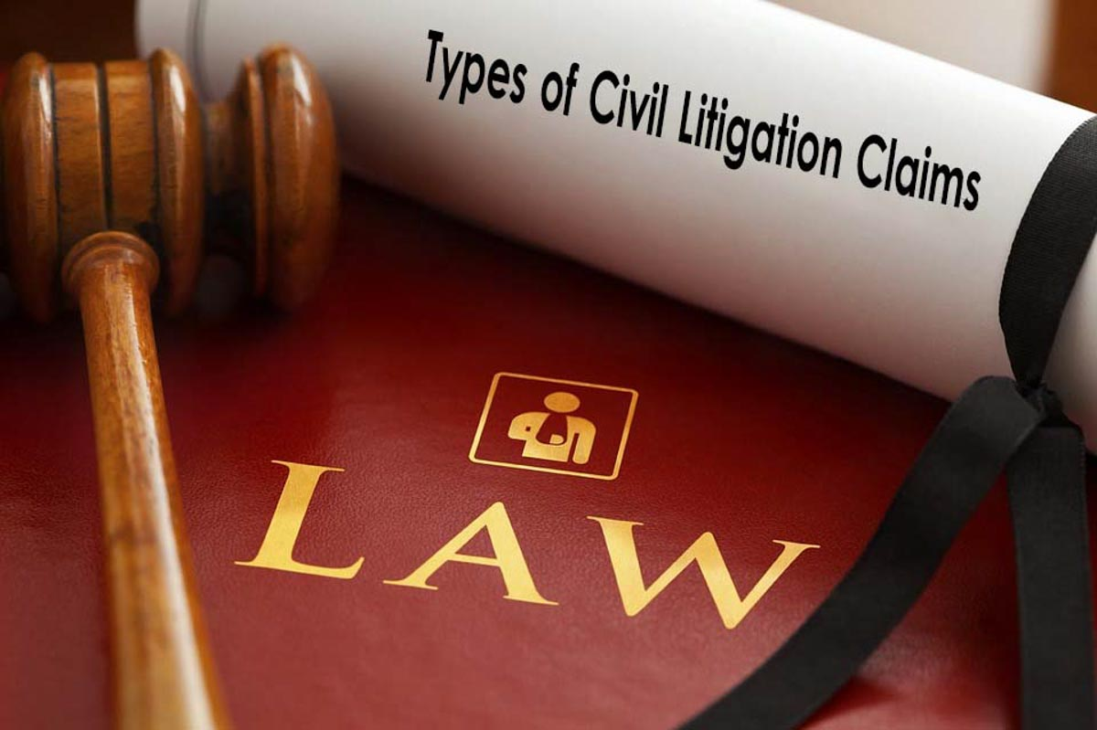 types of civil claims